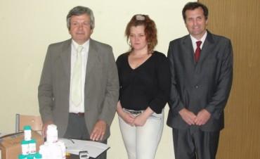 """Alvear: la Fundación OSDE donó medicamentos al hospital """"Bernardino Rivadavia"""""""