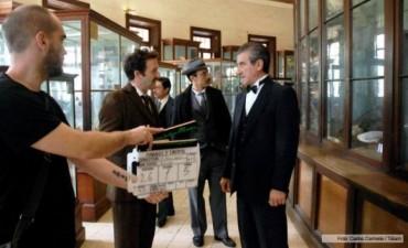 Actor olavarriense en la película sobre Einstein