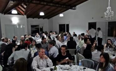 Los bancarios de la región celebraron su día con una cena