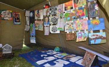 El arte de los jóvenes se mostró en el Parque Eva Perón