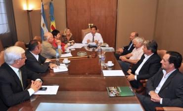 Alvear: El intendende Celillo se reunió con el Jefe de Gabinete Alberto Pérez
