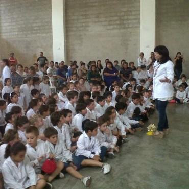 La Escuela 17 estrenó el gimnasio