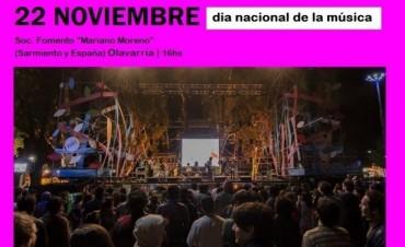 Jornada en el Día Nacional de la Música