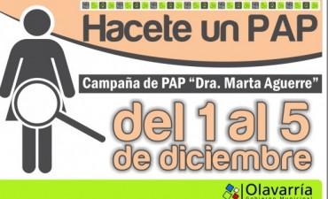 "Campaña de Pap ""Dra. Marta Aguerre"""
