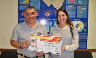 El CECO premió a dos nuevos afiliados con un sueldo adicional