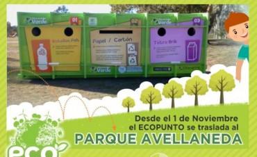 Hasta diciembre el Ecopunto estará en el Parque Avellaneda