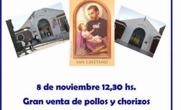 Venta de carne a beneficio de obras en la parroquia San Cayetano