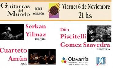 XXI Festival Guitarras del Mundo 2015