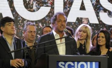 Daniel Scioli y su mensaje tras la derrota en el ballotage
