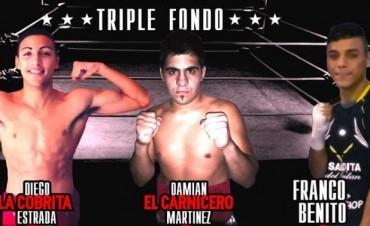 Noche de boxeo en El Fortín