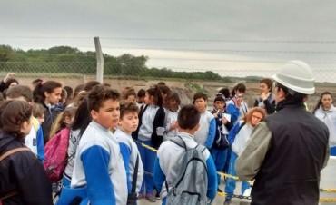 """""""Olavarría conoce a Olavarría"""": visita educativa por el circuito minero"""