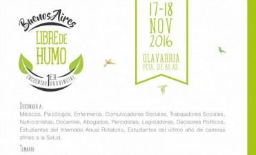 """Olavarría sede del Primer Encuentro Provincial """"Buenos Aires Libre de Humo"""""""