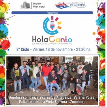 El viernes es la última edición de Hola Canto
