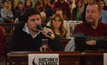 Aguilera y Bajamón rechazaron enfáticamente el aumento del agua en Olavarría