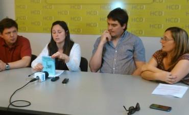 Presentaron el proyecto de Folleto Accesible