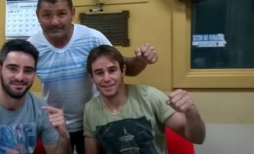 Nacho Palahy y Tito Videla hablaron de boxeo en La Cocina del Futbol