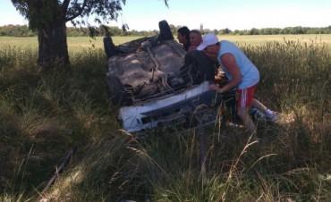 Dieron el alta a la persona accidentada en Ruta 51 y Avellaneda