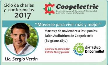 """El 'Profe Verón' en el 'Ciclo de charlas"""" de Coopelectric"""