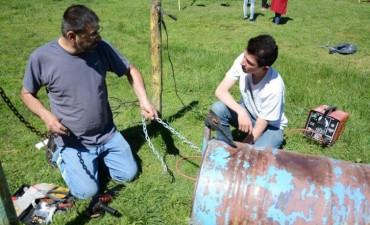 Unidad Ciudadana realizó una Jornada Solidaria en Colonia Hinojo