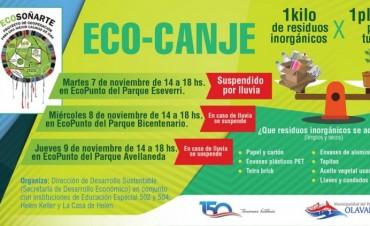 Se suspendió el Eco Canje en el Parque Eseverri