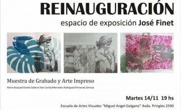 Reinauguran espacio de exposiciones en la Escuela de Artes Visuales