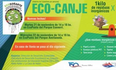 Martes y miércoles de Eco – Canje