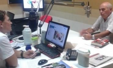 Daniel Panarace anunció cambios en la programación de la radio