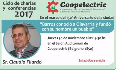 Coopelectric continúa con el Ciclo de Charlas y Conferencias