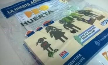 Programa Pro Huerta: ya se completó la entrega de semillas