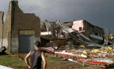 Fuerte temporal en Chivilcoy dejó a más de 50 familias sin hogar