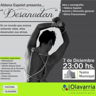 """Desanudan"" en el Teatro Municipal"
