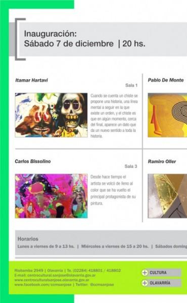 """Inaugura una muestra colectiva en el Centro Cultural Municipal """"San José"""""""