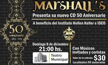 """""""Los Marshall"""" presentan su disco 50° Aniversario en el Teatro Municipal"""