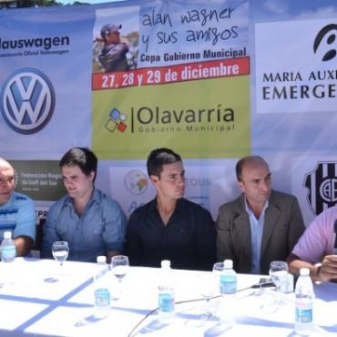 El Presidente del Concejo Deliberante, Eduardo Rodríguez participó de la presentación del torneo