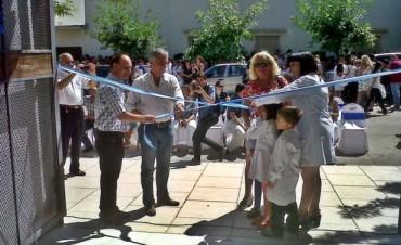 La Escuela 17 inauguró oficialmente su gimnasio