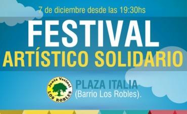 Festival Artístico Solidario en el barrio Los Robles