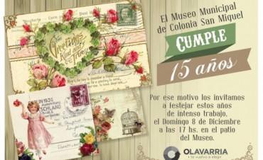El Museo Municipal de Colonia San Miguel cumple 15 años