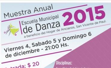Muestra anual de la escuelas Municipales de Educación Artística