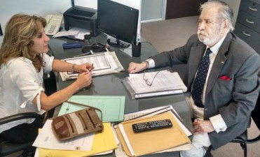La diputada Lordén se reunió con el ex Ministro de Economía Osvaldo Palacios