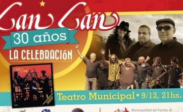 Llega el concierto celebración de la legendaria banda de rock Can Can