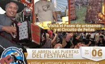 Continúa el Festival de Doma y Folklore en Olavarría