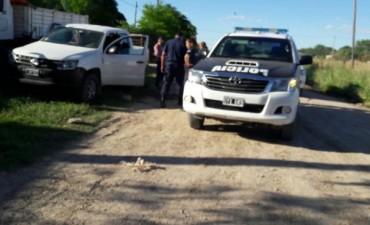 Secuestro de camioneta de un gitano