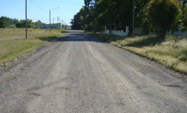 Mejoramiento de calles en Villa Mi Serrranía