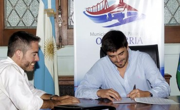 El Municipio firmó un convenio con el Banco Patagonia