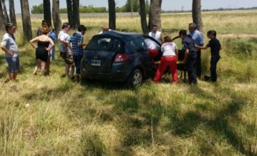 Accidente vial en la Ruta 226