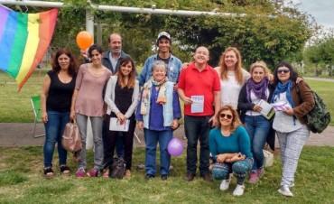 La Mesa Local emprendió una recorrida comunitaria en la localidad de Espigas