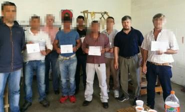 Finalizaron los cursos de Formación Profesional en la Unidad 38