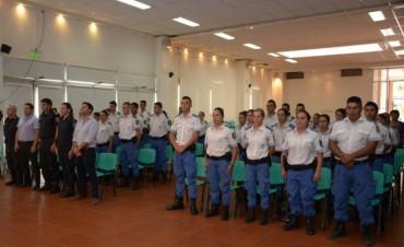 Se entregaron los certificados del Programa de Capacitación para la Policía Local