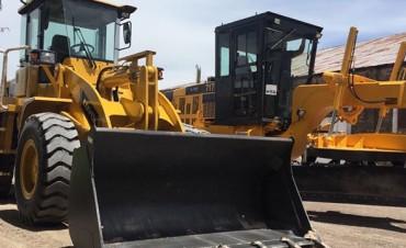 El Municipio incorporó nueva maquinaria para el mantenimiento urbano