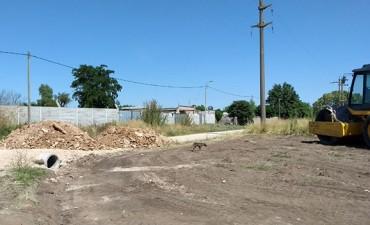 Mejoramiento de calles en los barrios Isaura y La Araña